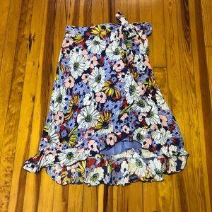 Anthro Wrap Skirt
